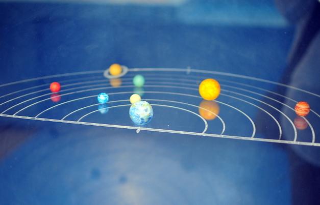 The universe revolves around us! Photo credit: Flikr user carolune, CC BY-SA 2.0