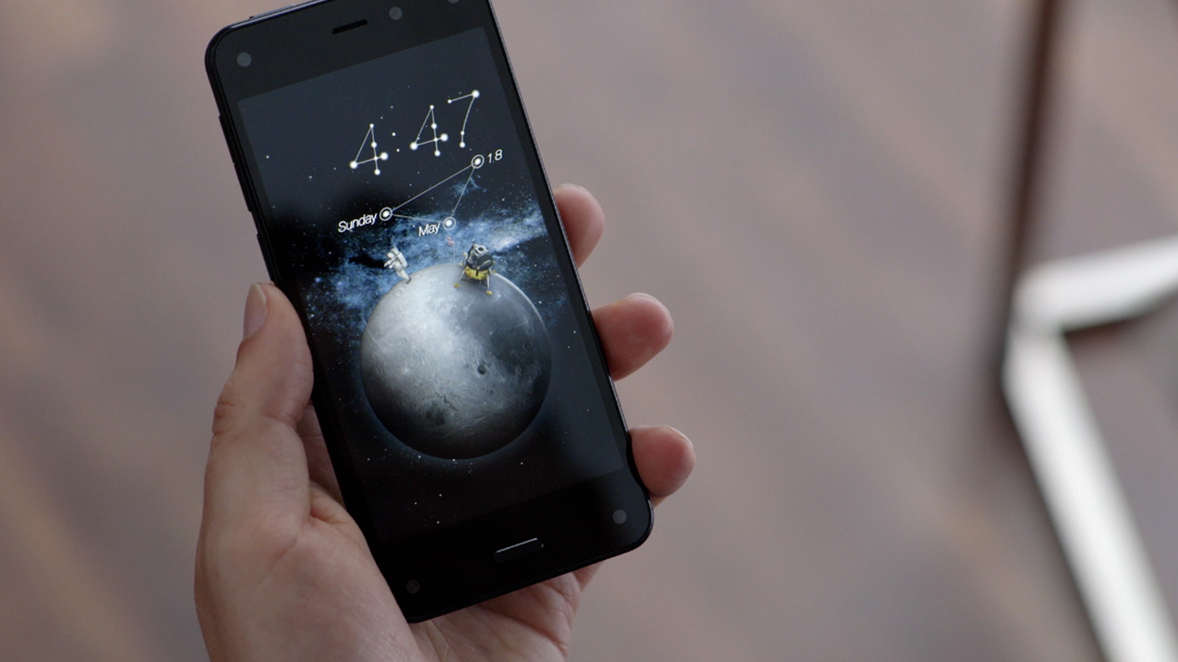 Amazon's New Fire Phone, Photo: Amazon.com