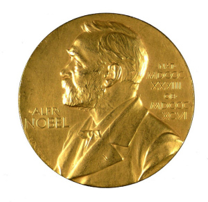 Nobel Medal (This one awarded to F. G. Banting), Photo: Thomas Fisher Rare Book LIbrary, CC BY 2.0