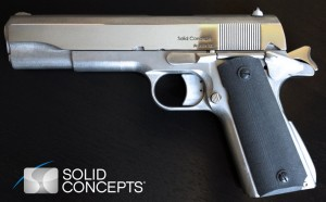 Solid Concepts' previous 3D-printed gun, the 1911. Photo: Solid Concepts