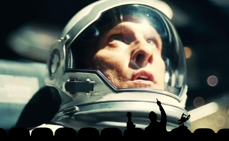 "Everyone's a critic. Photo: ""Interstellar"" / ""MST3K"""