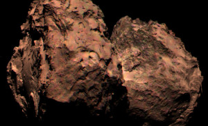 67P in Colour? Not so fast. Photo: Probably NASA