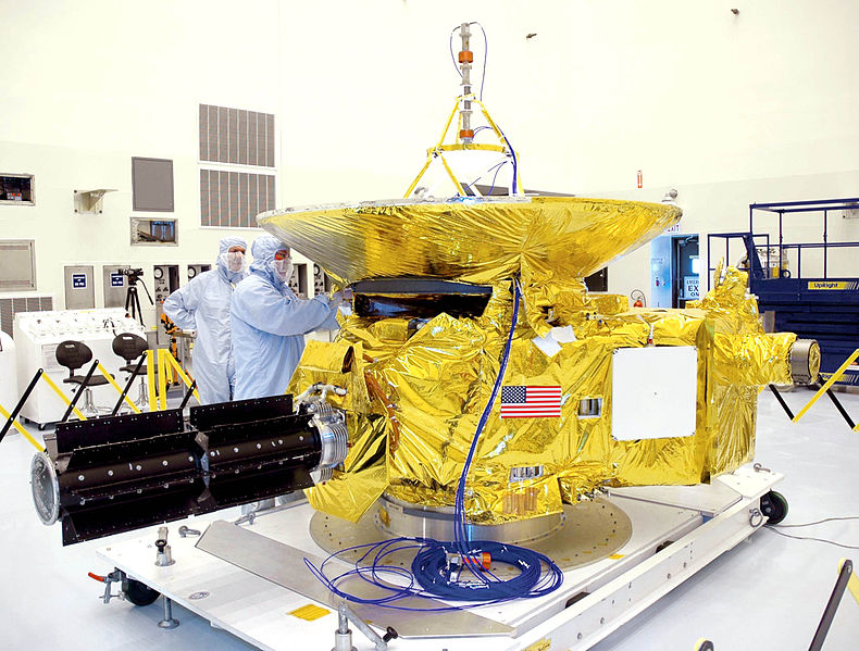 NASA's New Horizons probe nine years ago, Photo: NASA