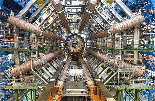 ATLAS at the LHC; Photo: CERN, CC BY 2.0