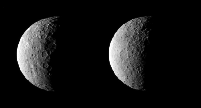 The dwarf planet Ceres; Photo: NASA/JPL-Caltech/UCLA/MPS/DLR/IDA