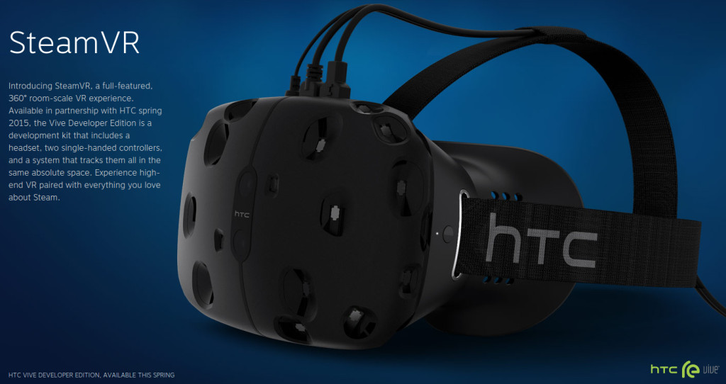 HTC and Steam have released the new SteamVR; Photo: Steam/HTC