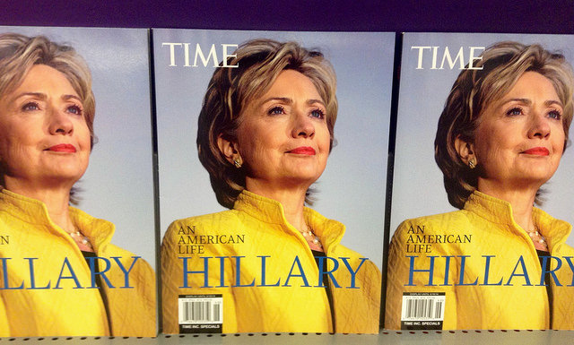 Now that she's decisively running as Hillary, is it sexist to call her by her first name? Photo: Flickr user Mike Mozart, CC BY 2.0