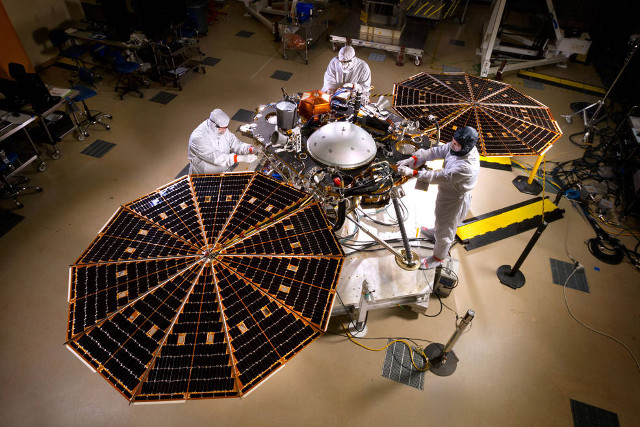 InSight, Photo: NASA/JPL-Caltech/Lockheed Martin