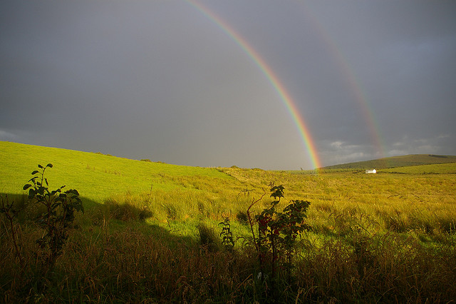 Double Irish Rainbow, by Flickr user IrishFireside, CC BY 2.0