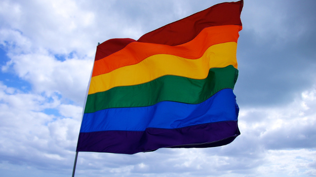 Raise the rainbow flag. Photo: Flickr user Ted Eytan, CC BY-SA 2.0