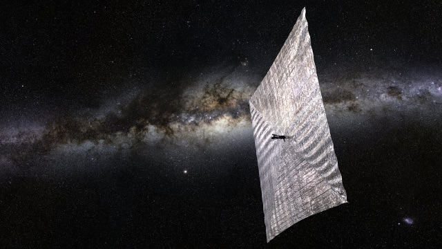 The Planetary Society's Lightsail-1; Photo: The Planetary Society