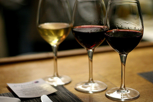 Wine flight, flight of fancy, your call. Photo: Flickr user Jing, CC BY 2.0