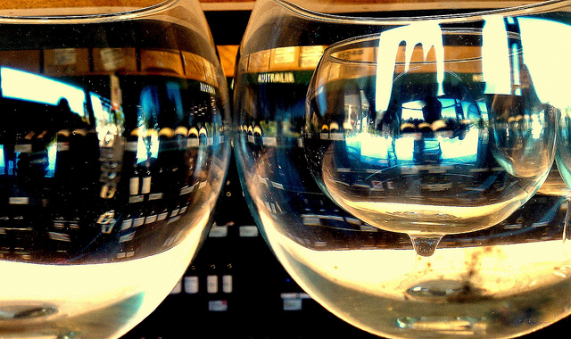 I bet wine tastes great out of those glasses; Photo: Flickr user Keoni Cabral, CC BY 2.0