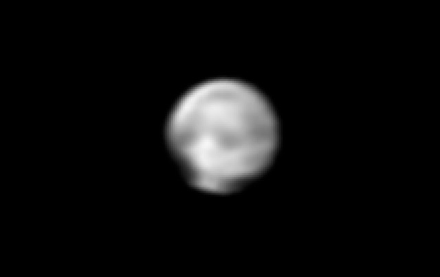 Pluto, as captured by New Horizons June 18; Photo: NASA/Johns Hopkins University Applied Physics Laboratory/Southwest Research Institute