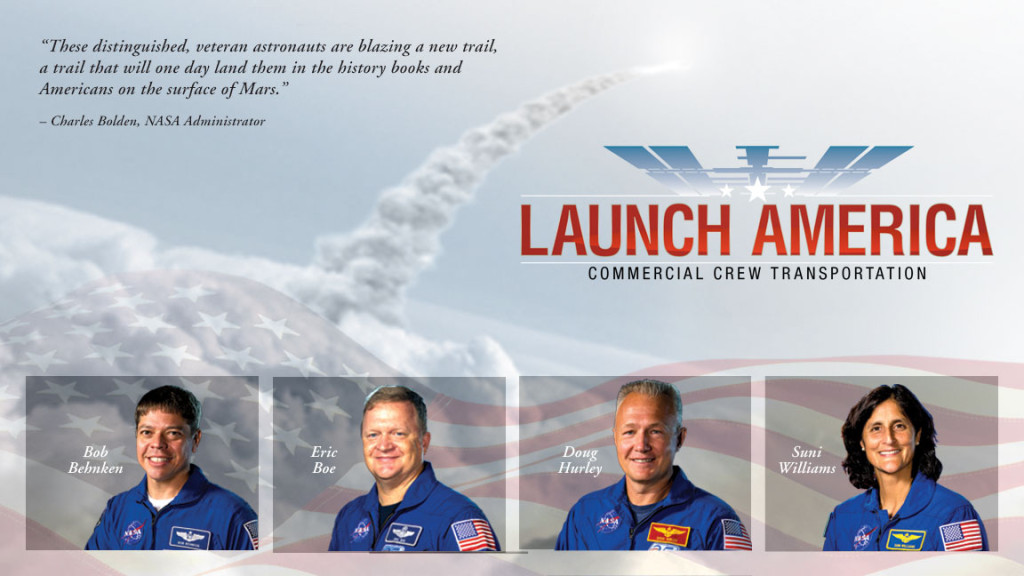 NASA's Commercial Crew; Photo: NASA