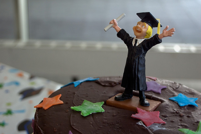 Graduation saves lives? | Photo: David Goehring, CC BY 2.0