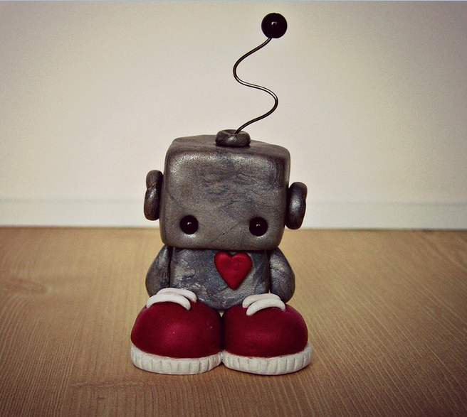What a sad little lovebot | Photo: LittleGreyCoconut, CC BY 2.0