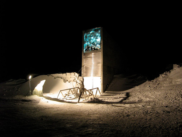 Svalbard Global Seed Vault | Photo: Dag Terje Filip Endresen, CC BY 2.0