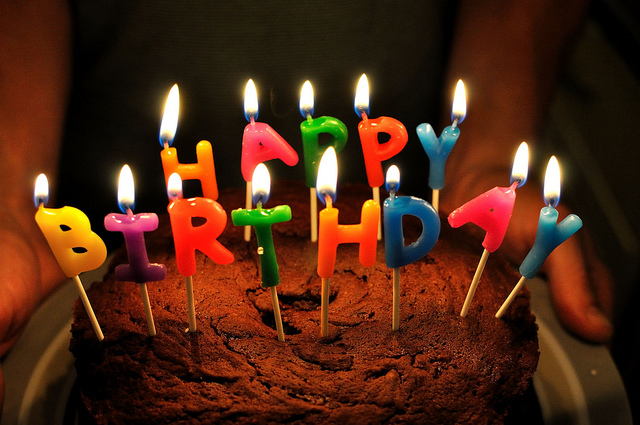 Happy Birthday to You, and You, and You...! | Photo: Will Clayton, CC BY 2.0