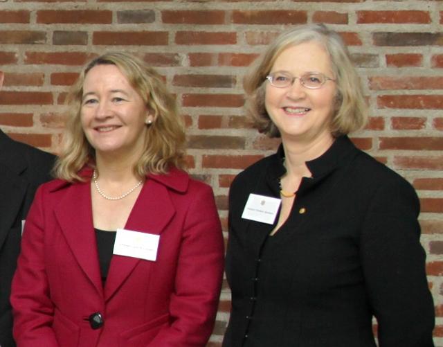 Carol Greider and Elizabeth Blackburn in 2009 | Photp: US Embassy Sweden, CC BY 2.0