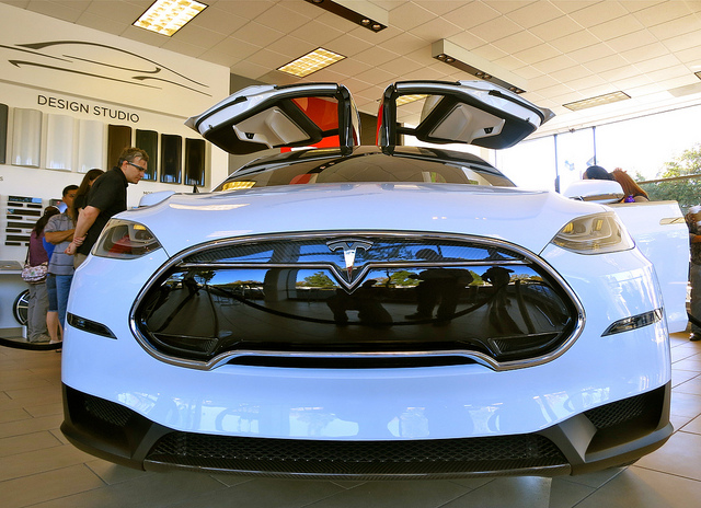 The Tesla Model X | Photo: Steve Jurvetson, CC BY 2.0