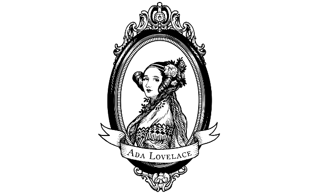 Ada Lovelace | Drawing: Colin Adams, for the Ada Initiative, CC0