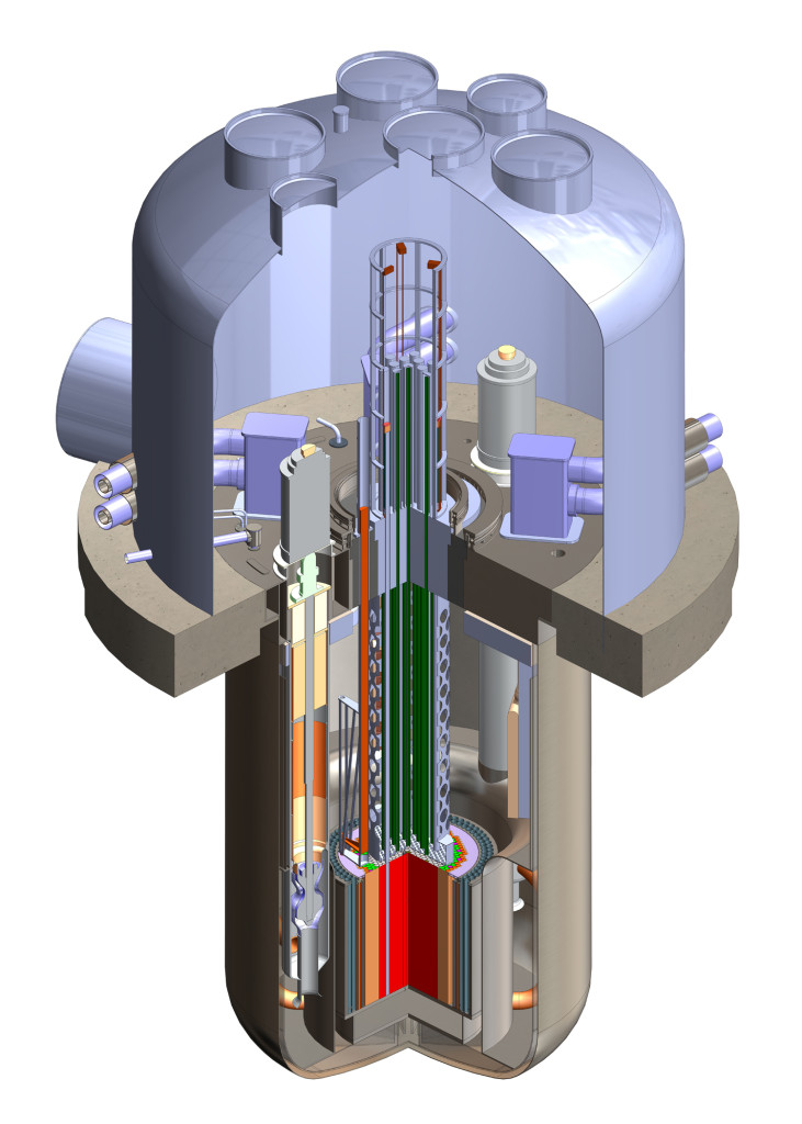 TerraPower's TWR-P reactor design | Image: TerraPower
