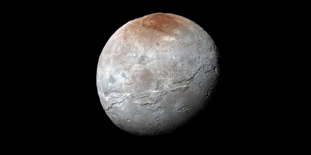 Charon, in full colour | NASA / JHUAPL / SWRI