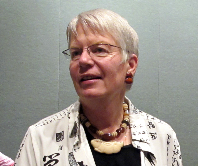 Dr. Jill Tarter at SETI Con 2010 | Photo: Anita Hart, CC BY-SA 2.0