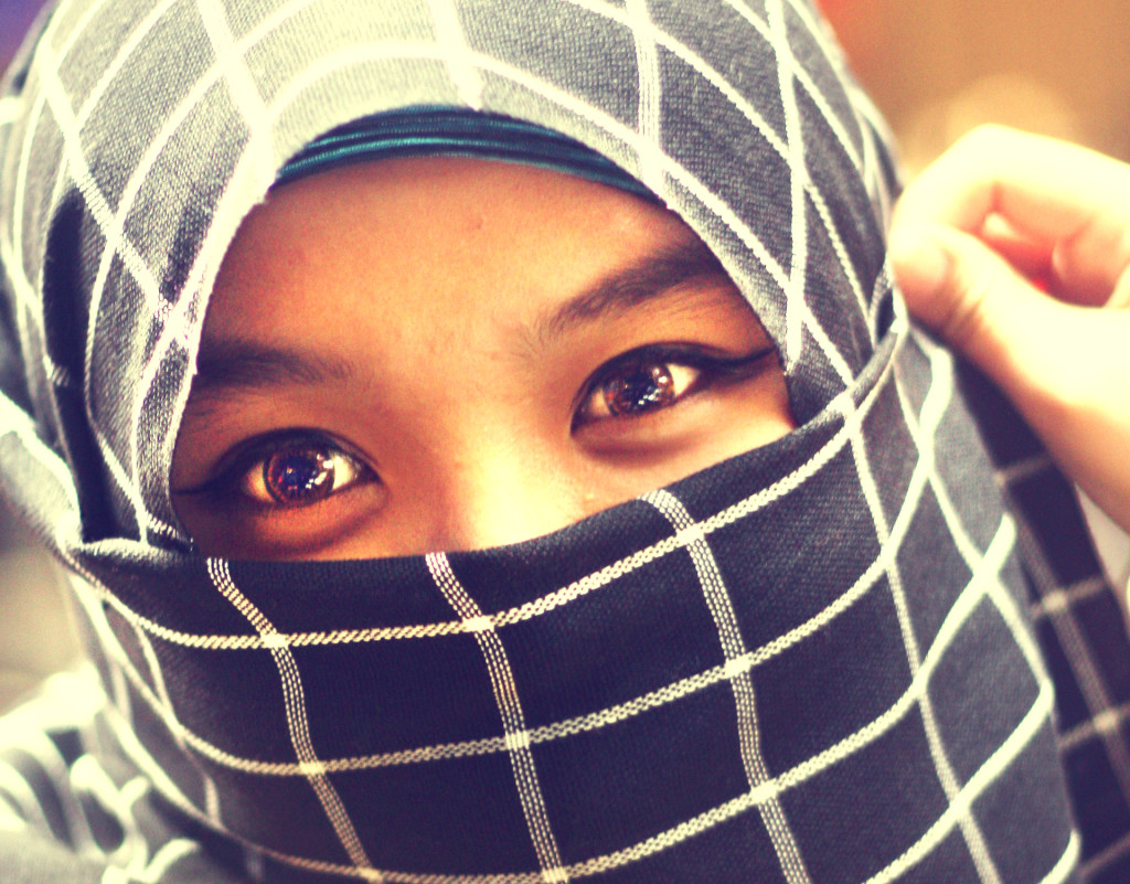 Niqab | Photo: syauqee mohamad, CC BY-SA 2.0