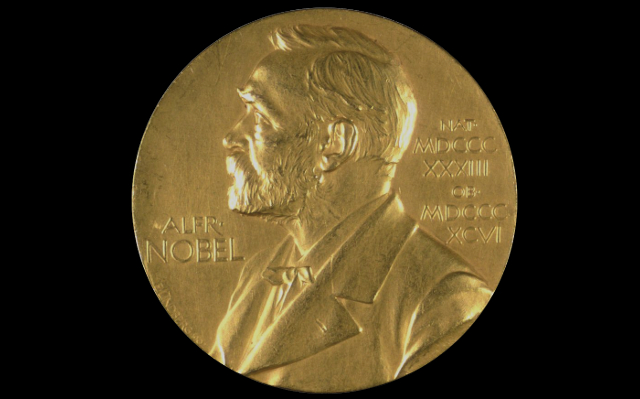 Nobel Prize medal | Thomas Fisher Rare Book Library, UofT