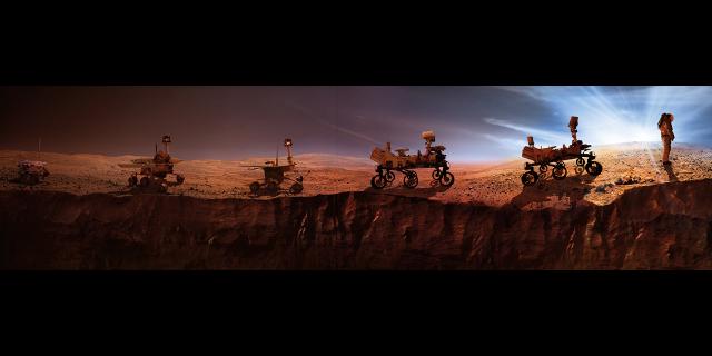 The path to Mars | Photo: NASA