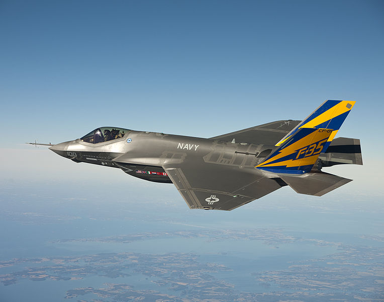 The F-35 program has cost roughly $1,300,000,000,000 to date | Photo: Andy Wolfe, Wikimedia Commons, Public Domain