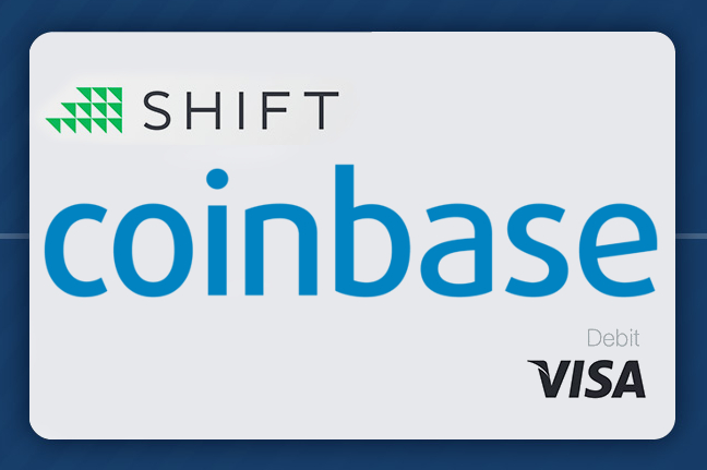 Pay anywhere with Bitcoin | Image: Coinbase, Shift