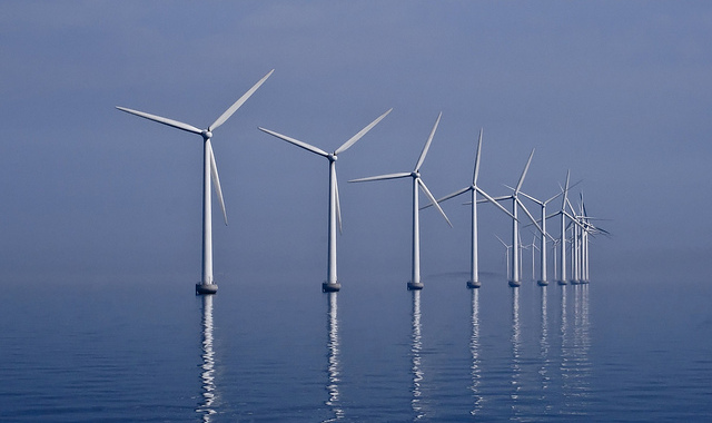 Offshore wind | Photo: Kim Hansen, CC BY 2.0