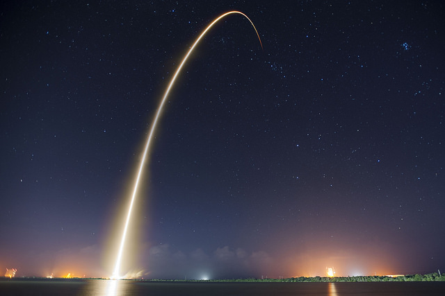 A photo of SpaceX's CRS-4 takes Flickr's top spot for 2015 | Photo: SpaceX, CC0