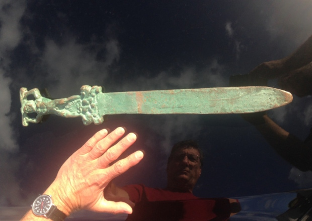 """Roman"" sword ""found"" off Oak Island 