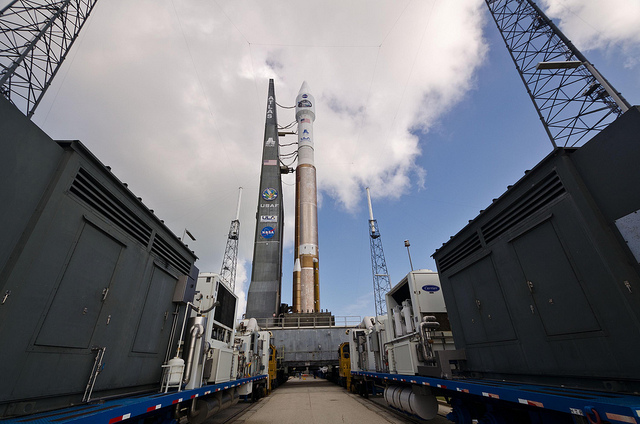 An Atlas V (with its RD-180 engines) | Photo: NASA Goddard Space Flight Center, CC BY 2.0