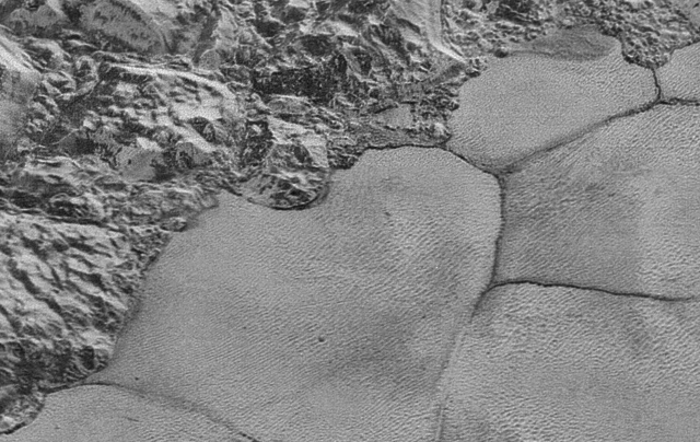 Pluto from just 10,000 miles away | Photo: NASA/JHUAPL/SWRI