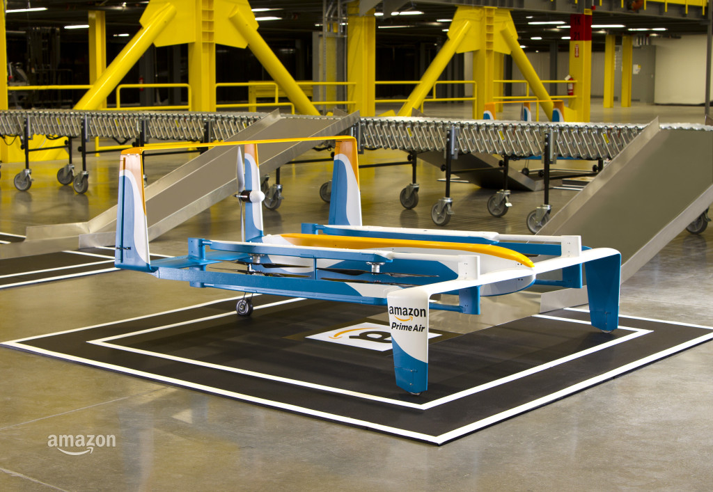 An Amazon Prime Air drone prototype | Photo: Amazon