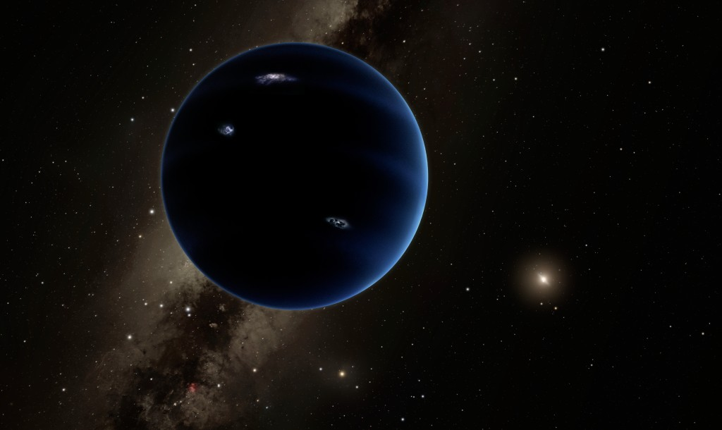 Planet Nine, is that you? | Photo: Konstantin Batygin and Mike Brown