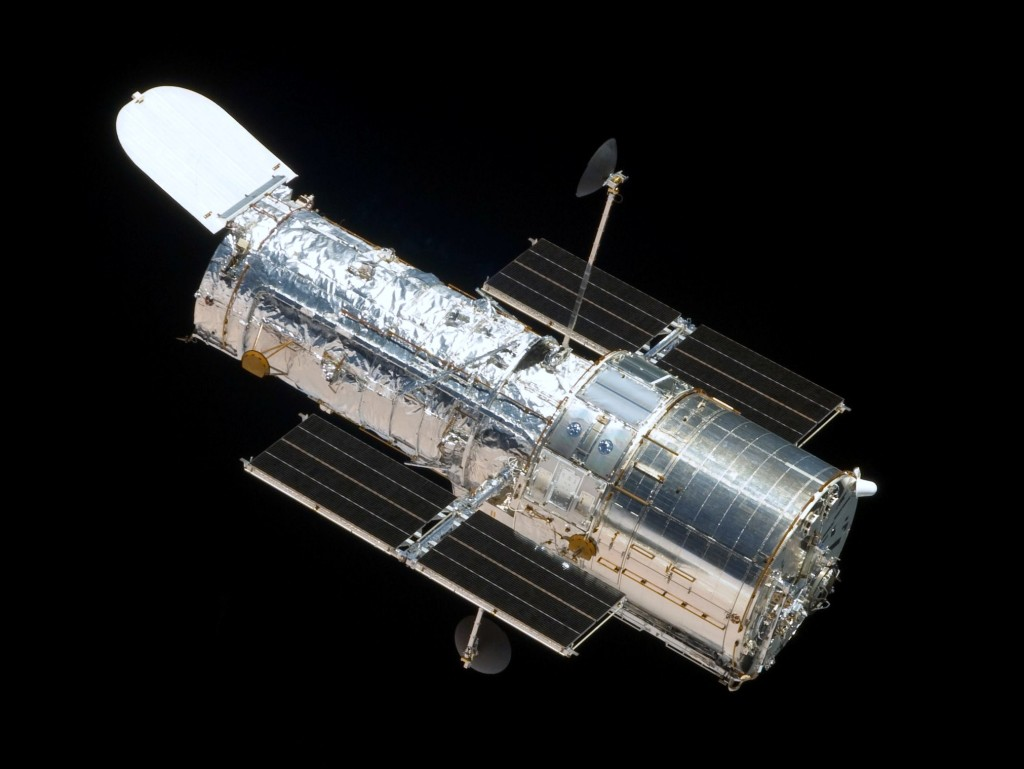 The Hubble Space Telescope | Photo: Ruffnax (Crew of STS-125), cc0 (public domain)