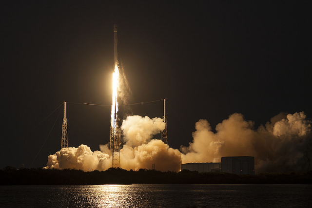 SES-9 launch | Photo: SpaceX Photos, CC0 (public domain)