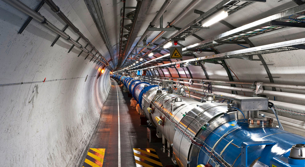 Because photos of the LHCb are hard to find | Photo: CERN, CC BY-SA 3.0