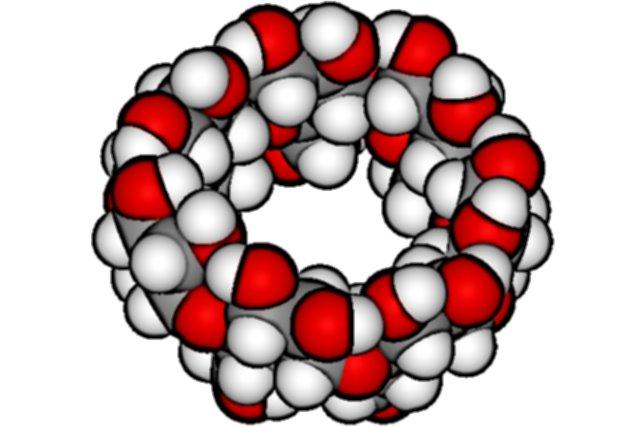 A cyclodextrin | Photo: Edgar181, Wikimedia Commons