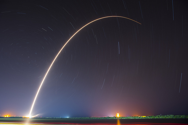 JCSAT-14 Launch | Photo: SpaceX, CC BY 2.0