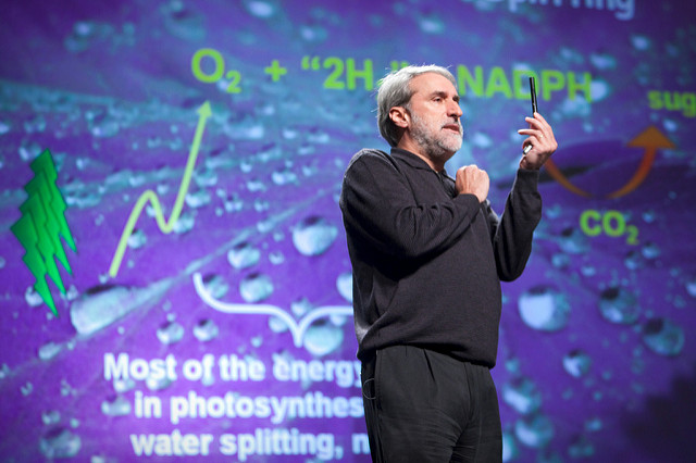 Daniel Nocera speaking at Pop!Tech 2009 | Photo: PopTech, CC BY-SA 2.0