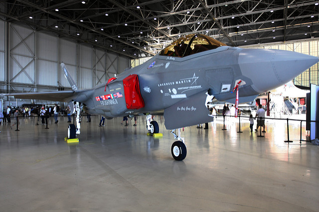 The F-35 | Photo: Rennett Stowe, CC BY 2.0