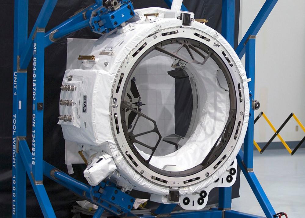 IDA-2 well before launch | Photo: NASA