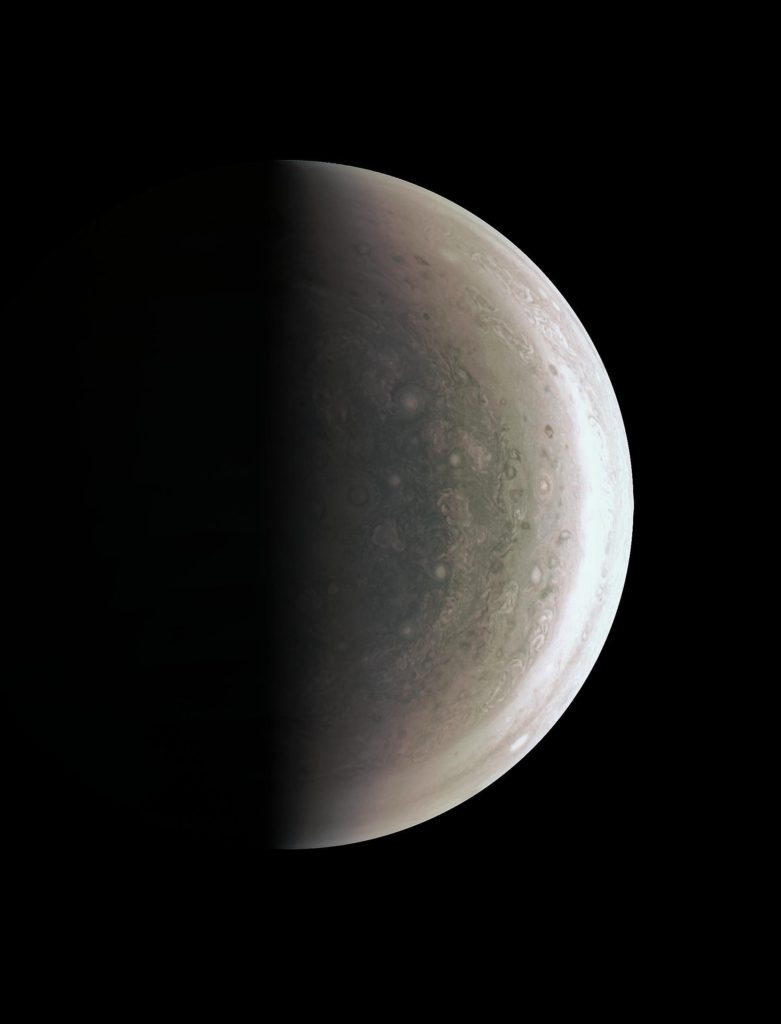 "Jupiter from ""below"" 
